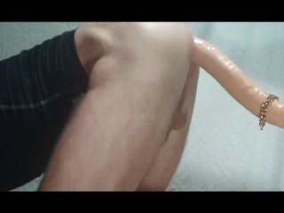 Be that as it may to fuck a sensual 70cm dildo