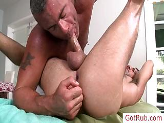 Man gets amazing blowjob unconnected with gotrub