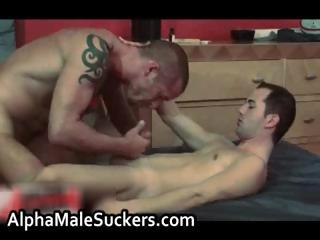 Extreme hardcore gay making out and sucking