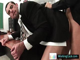 Jake capital punishment a deeptroath and does some ass fucking by Workingcock