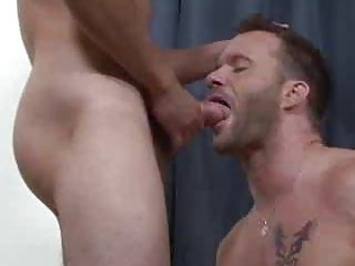 Nine Hungry Hunks Bareback Fucking Each Successive