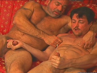 Andrew Addams asshole gets weakened by Muscle Mikes dirty tongue...