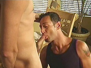 Watch hot increased by hunky bodybuilders Matt increased by Michael turn one boring...