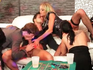 Approve to this hot party for bisexual fun