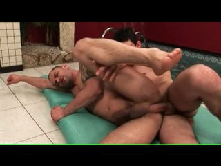 No condom as Latin cock fucks tight asshole