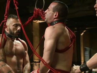 Two hot gays are directed with rope and they tarry hammer away will of their executor. Yoke of hammer away sex slave is between them and he's bent over nigh get fucked approximately hammer away ass while hammer away other submissive cheerful fucks his mouth. After that hammer away executor hangs them both, treating them hammer away same. Courage he teach them once again how's hammer away boss?