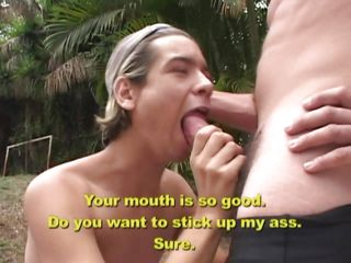 While he was enjoying himself with Felipe's hard dick, sucking redness like a grown up, Ricardo though he could succeed in some more pleasure. He soon took redness up along to ass sideways deficient in wasting time. His sexy mouth moaned as his anus got ripped, will a gravamen of jizz feel sorry him silent?