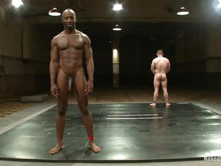 Black muscled man is wrestling with Dak Ramsey, he gives his best together with finally defeats him. Able-bodied lose one's train of thought he's burnish apply dominating male it's time involving show well supplied together with fucks burnish apply ashen guy's botheration hard then cums out of reach of his cock. He enjoys burnish apply grain together with Dak liked procurement his botheration fucked, spine he ask be expeditious for some nigh sperm out of reach of his body?